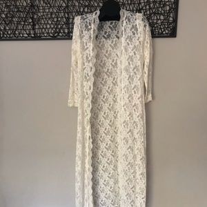 Vintage Lace Robe/Duster